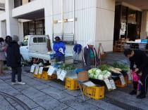 とれたて野菜の販売