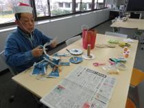 新聞紙工作教室